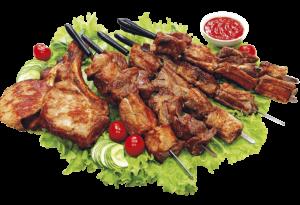 Блюда с мангала
